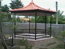 تهیه و اجرای سقف های شیب دار ورق طرح سفال در شیپور-عکس کوچک