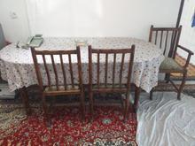 میز نهار خوری چوبی  در شیپور-عکس کوچک
