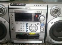 ضبط صوت بزرگ cd.کاست.aux.وفلش خور سالم در شیپور-عکس کوچک