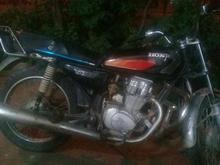 موتور سیکلت استارتی 4 دنده  در شیپور-عکس کوچک