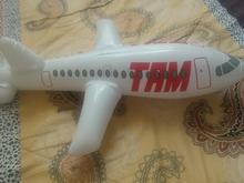 یک عدد اسباب بازی بادی(هواپیما بادی) در شیپور-عکس کوچک