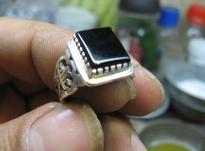 انگشتر نقره مردانه در شیپور-عکس کوچک
