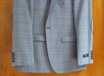 کت تک شیک و نو ، سایز ۵۰،یک بار پوشیده شده در شیپور-عکس کوچک