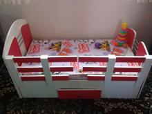 تخت کودک ونوجوان به همراه تشک در شیپور-عکس کوچک