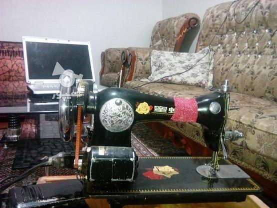 چرخ خیاطی اصل ژاپن با قیمت خوب. در گروه خرید و فروش لوازم خانگی در آذربایجان غربی در شیپور-عکس1