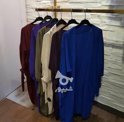 مانتوگلدوزی رنگ طوشی200یک مدل مشکی150واستین گره ای در گروه خرید و فروش لوازم شخصی در سمنان در شیپور-عکس1