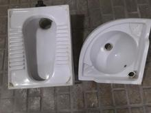 روشویی کنجی و کاسه توالت در شیپور-عکس کوچک