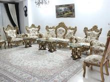 مبل استیل سلطنتی 9 نفره به همراه غذاخوری 8 نفره در شیپور-عکس کوچک