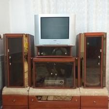 میز سه تیکه تلوزیون ام دی اف رنگ پولیستر در شیپور-عکس کوچک