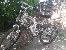 دوچرخه 26.دنده ای.ترمز دیگسی.کمک فنر کاملا سالم  در شیپور-عکس کوچک
