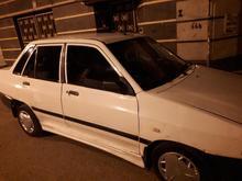 سواری پراید سفید86 در شیپور-عکس کوچک