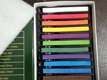 پاستل گچی 12 رنگ آکبند  در شیپور-عکس کوچک