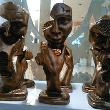 مجسمه های متفکر پلی استر رزین در شیپور-عکس کوچک