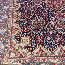 دو تخته فرش دست بافت 9 متری کرمانی کاملا نو در شیپور-عکس کوچک