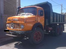 کامیون بنز ده چرخ فابریک کمپرسی در شیپور-عکس کوچک
