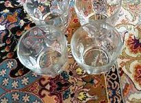 نه عدد فنجان بلور در شیپور-عکس کوچک