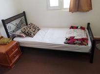 تخت خواب فلزی تک نفره در شیپور-عکس کوچک