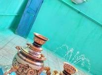 کار در کارگاه تولیدی ظروف مسی نقره کوب  در شیپور-عکس کوچک