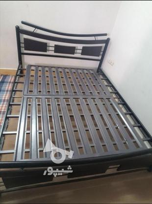 تخت خواب دو نفره  فلزی در گروه خرید و فروش لوازم خانگی در بوشهر در شیپور-عکس1