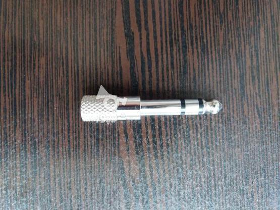 فیش تبدیل پورت صدای استریوی  AUX به فیش میکروفن در گروه خرید و فروش لوازم الکترونیکی در قم در شیپور-عکس1