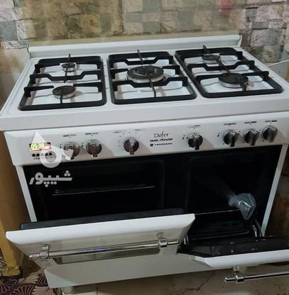 فرگاز پنج شعله دوفر تاکنوگاز ایتالیایی در گروه خرید و فروش لوازم خانگی در بوشهر در شیپور-عکس1