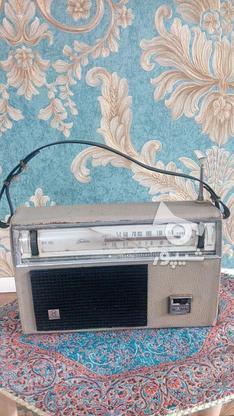 رادیو توشیبا قدیمی در گروه خرید و فروش لوازم الکترونیکی در تهران در شیپور-عکس1