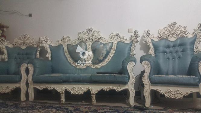 فروش مبل سلطنتی  با کمد لباسی و میز ارایشی در گروه خرید و فروش لوازم خانگی در بوشهر در شیپور-عکس1