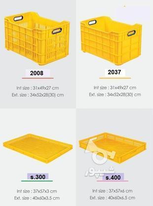 فروش جعبه پلاستیکی و سبد پلاستیکی  در گروه خرید و فروش خدمات و کسب و کار در تهران در شیپور-عکس4