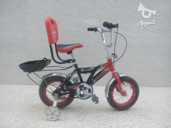 دوچرخه بچه گانه سایز12 در گروه خرید و فروش ورزش فرهنگ فراغت در بوشهر در شیپور-عکس1