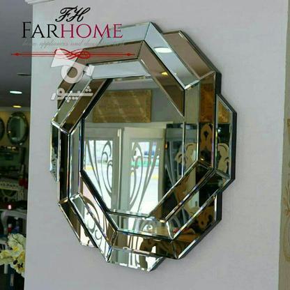 آینه دکوراتیو طرح هندسی  در گروه خرید و فروش لوازم خانگی در بوشهر در شیپور-عکس1