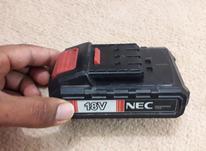 باتری و شارژر دریل شارژی NEC  در شیپور-عکس کوچک