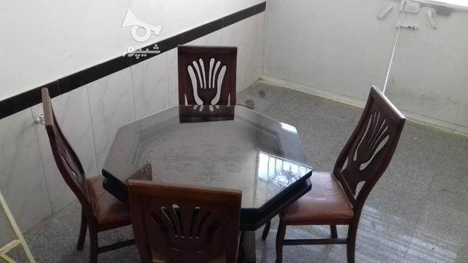 میز غذاخوری چهارنفره  در گروه خرید و فروش لوازم خانگی در کرمانشاه در شیپور-عکس1