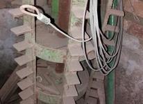 خرمنکوب کمباین سهند شالی در شیپور-عکس کوچک