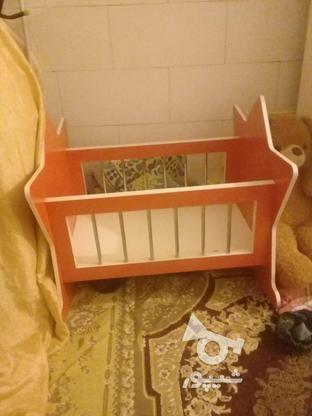 تخت گهواره ای کودک در گروه خرید و فروش لوازم شخصی در گلستان در شیپور-عکس1
