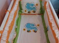 تخت کودک با قابلیت گهواره شدن در شیپور-عکس کوچک