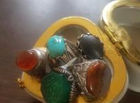 5   انگشتر نقره در شیپور-عکس کوچک