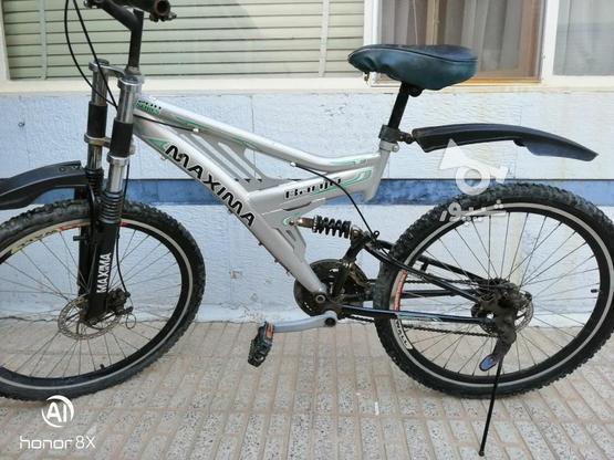 دوچرخه درحد نو در گروه خرید و فروش ورزش فرهنگ فراغت در اصفهان در شیپور-عکس1