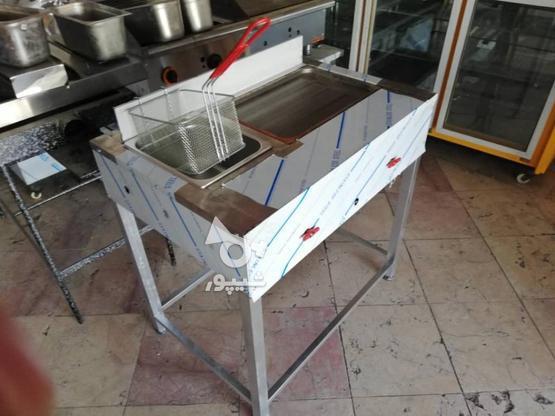 فر سرخ کن فلافل و همبرگر در گروه خرید و فروش صنعتی، اداری و تجاری در خوزستان در شیپور-عکس2