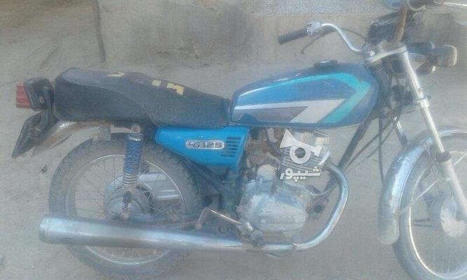 موتور تمیز مزایده ای 125ccتکتاز در گروه خرید و فروش وسایل نقلیه در گلستان در شیپور-عکس1