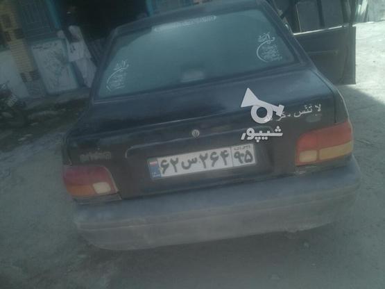 پراید صبامدل 84رنگ مشکی  در گروه خرید و فروش وسایل نقلیه در سیستان و بلوچستان در شیپور-عکس1