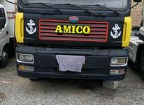 کامیون کمپرسی ده چرخ مدل 93 بدون رنگ بیمه تازه تخف در شیپور-عکس کوچک
