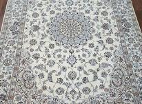 فرش زمینه کِرم شش متری دستباف نایین در شیپور-عکس کوچک