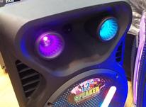 اسپیکر مدلp99iفول بلوتوسی رم فلش رقص نور  در شیپور-عکس کوچک
