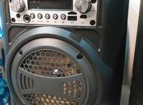 اسپیکرهای ضداب ضربه بلوتوسی رم فلش رادیو در شیپور-عکس کوچک