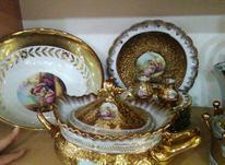 ظروف ظرف طلایی کامل  در شیپور-عکس کوچک