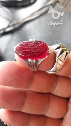 انگشتر یاقوت خون کفتری  قدیمی در گروه خرید و فروش لوازم شخصی در تهران در شیپور-عکس1