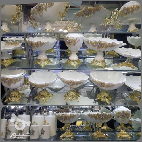 ظروف چینی پایه برنز در گروه خرید و فروش لوازم خانگی در بوشهر در شیپور-عکس1