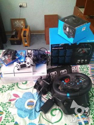 ps4 fat 500GB 1216 با دستهی اضافه در گروه خرید و فروش لوازم الکترونیکی در فارس در شیپور-عکس1