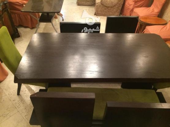 میز نهار خوری چوبی در گروه خرید و فروش لوازم خانگی در تهران در شیپور-عکس1