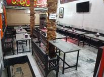 میز و نیمکت قهوه خانه در شیپور-عکس کوچک